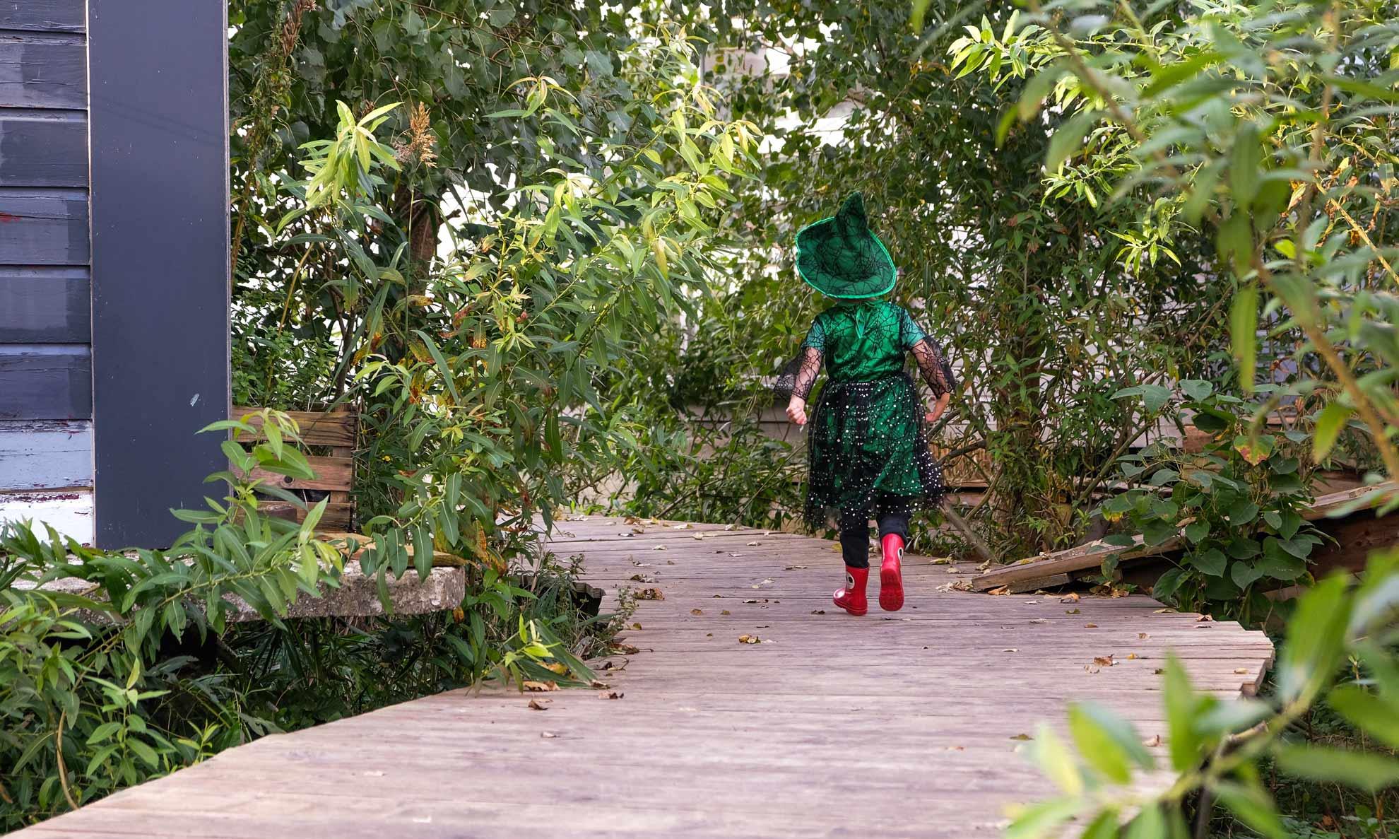 natuurworkshop voor kinderen op De Ceuvel